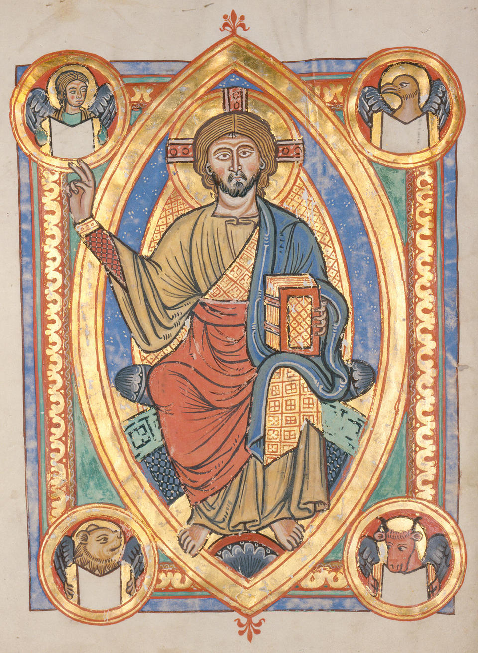 Christ in Majesty from the Codex Bruchsal