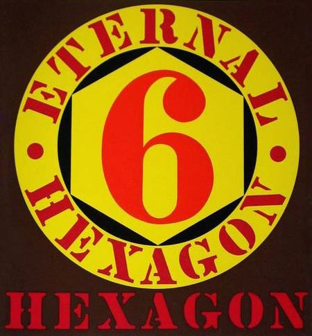 Robert Indiana's Eternal Hexagon
