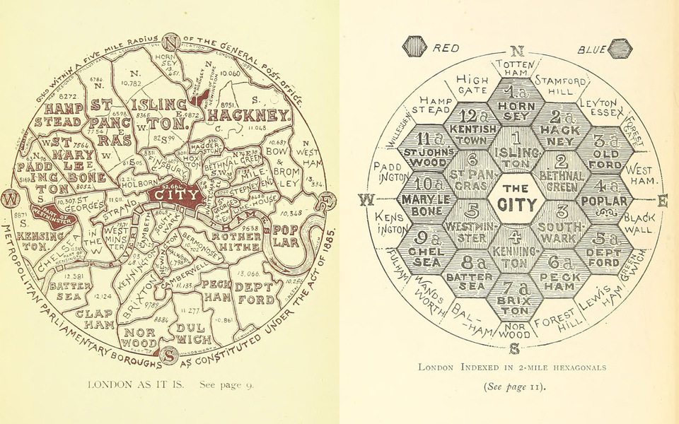 Hexagonal London - AS IT MIGHT BE