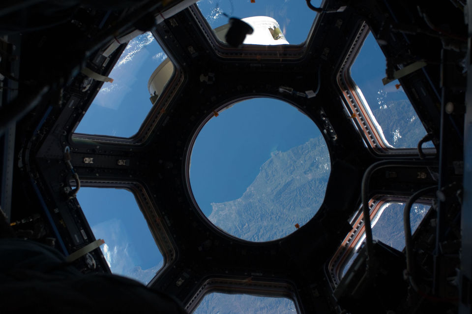 Algeria through the ISS cupola