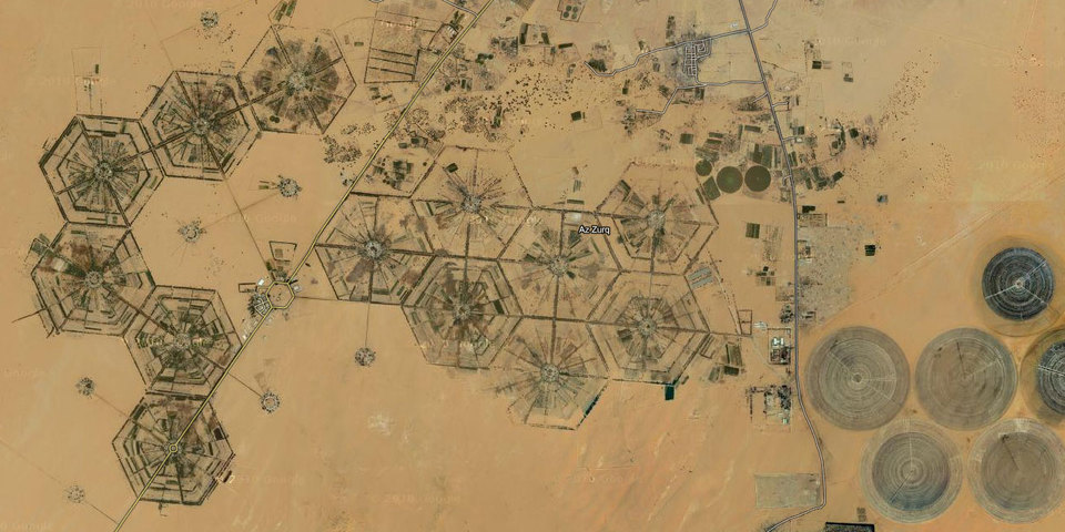 Libyan hexagons