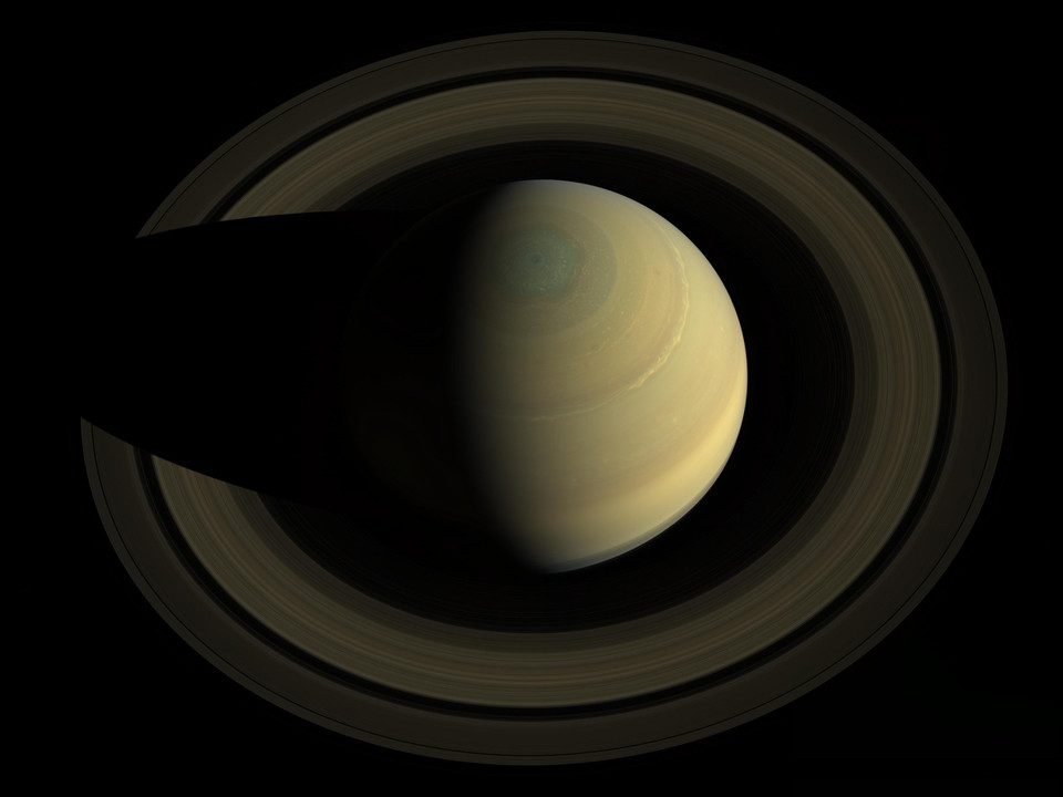 Saturn from Cassini - 2013-10-25