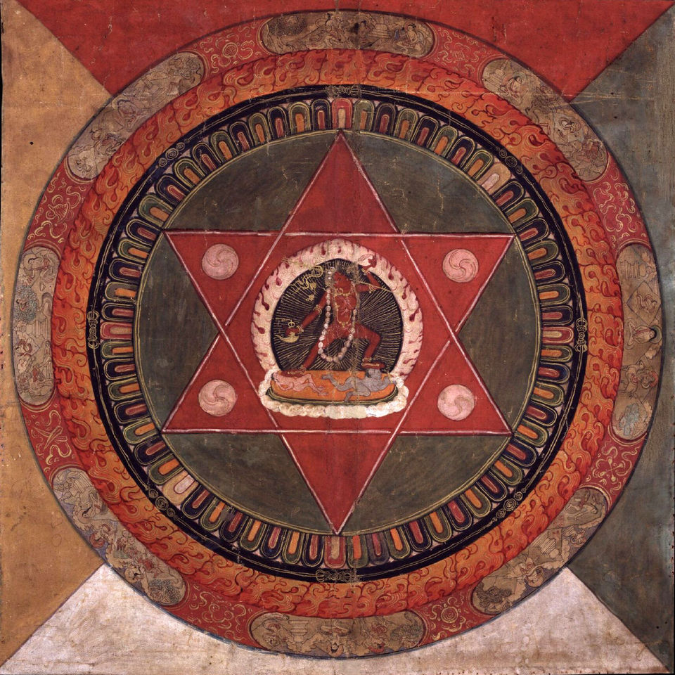 A Tibetan mandala of the Naropa tradition