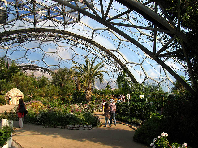 Hot Dry Biodome Eden Project