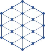 Third centered hexagonal number, nineteen