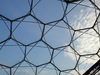 Closeup of hexagonal structure, Eden Project