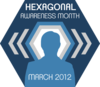 Hexagonal Awareness Month 2012